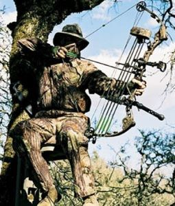 Hunting from a tree stand