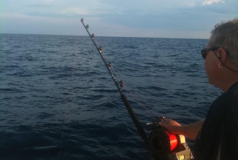 Tile fishing