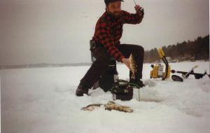Dave Sumner of Flirty Girty Ice Fishing Jigs