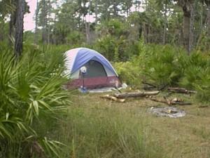 My simple Everglades campsite
