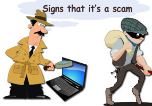 Below are things to watch for to avoid Internet Scams!