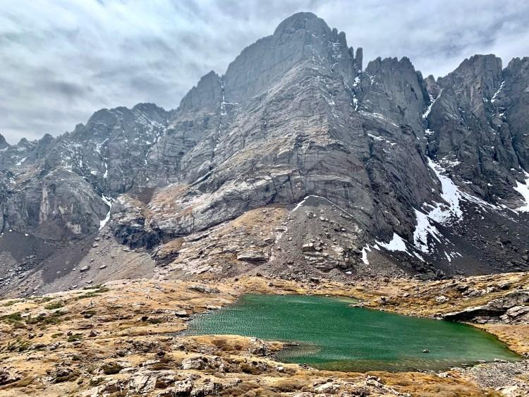 Upper Soith Colony Lake and Crestone Peak