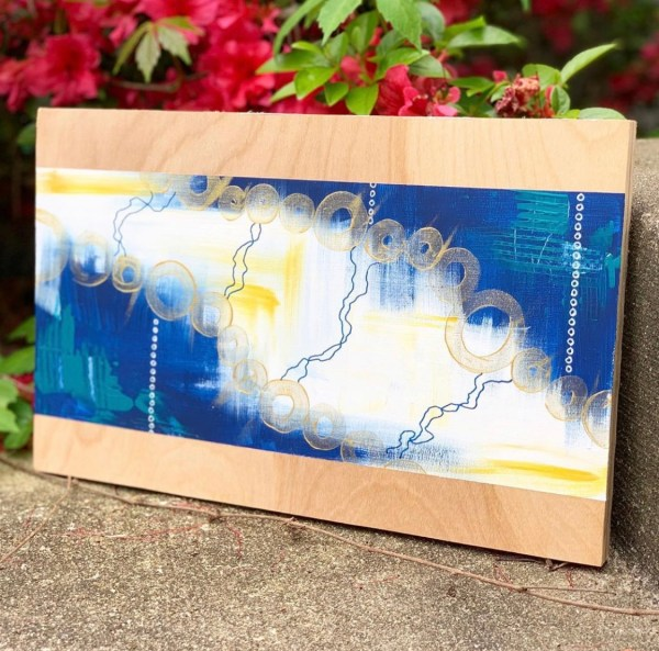 abstract painting outdoor photo