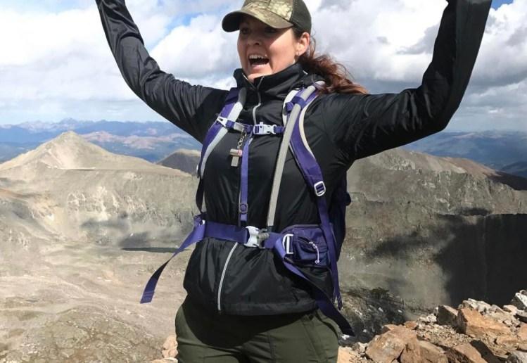 Me on Quandary Peak summit