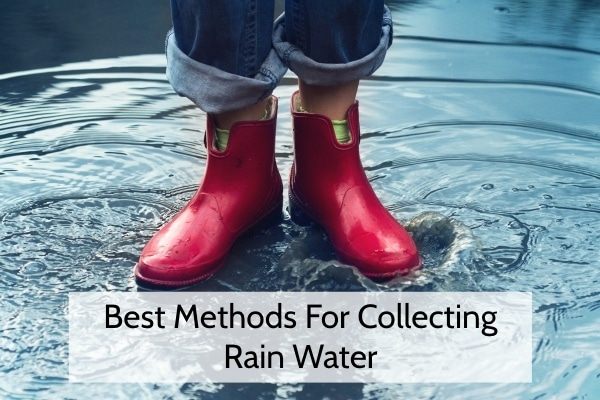 Best Methods For Collecting Rain Water