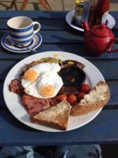 Morgan's Oval Breakfast