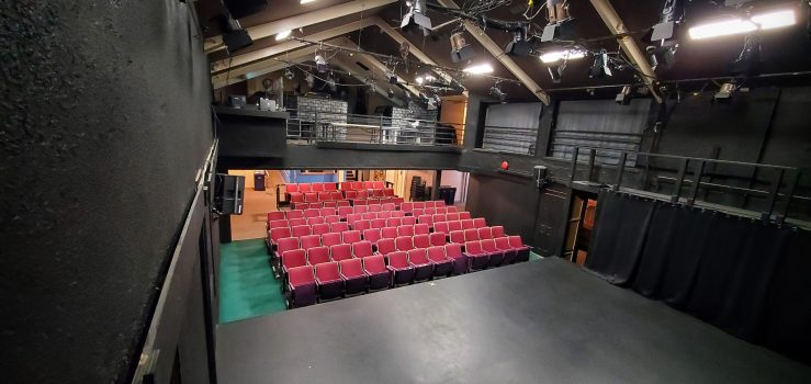 The OV Arts Centre view from stage.