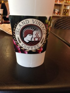 Photo Asian took of vintage coffee