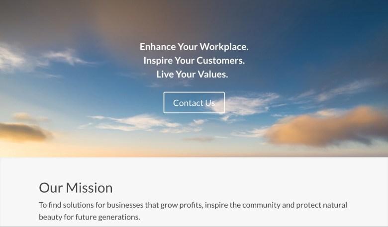 Green Current website screenshot