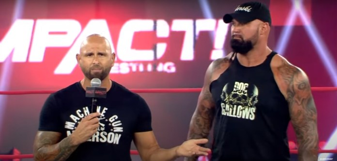 Impact Wrestling Recap (7/21) – The Good Brothers (Karl Anderson and Doc  Gallows) attack Ace Austin and Madman Fulton; Heath Can't Get In; Rohit  Raju Offers his Protection to Chris Bey -