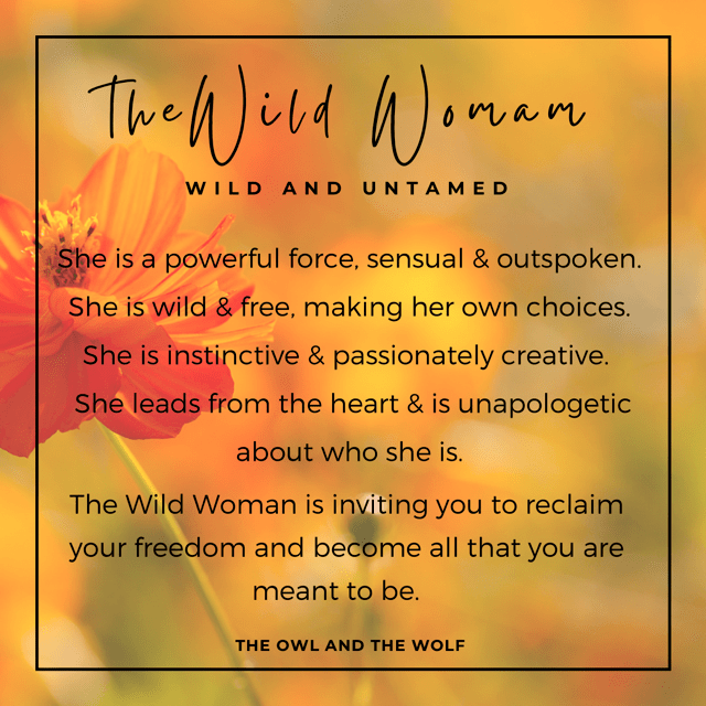 Wild Woman - Wild and Untamed