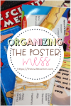 Organizing Posters: Five Steps to End Poster Chaos