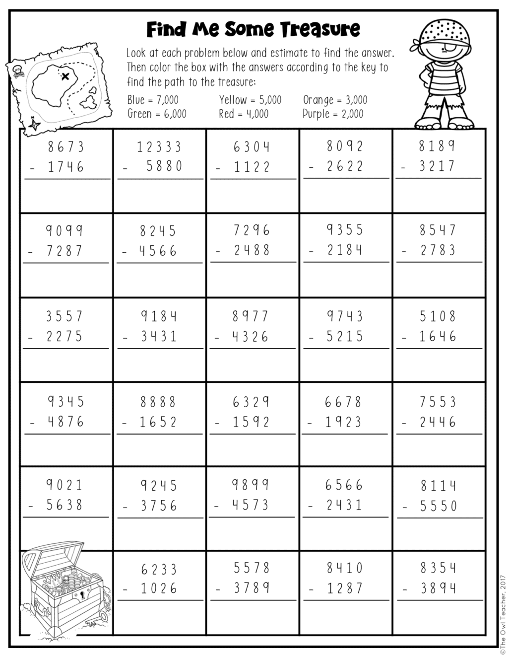 Addition And Subtraction Of Large Multi Digit Numbers