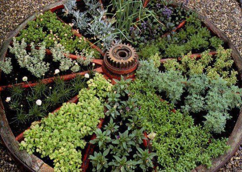 Container Herb Gardens And Other Herb Garden Ideas The Owner Builder Network