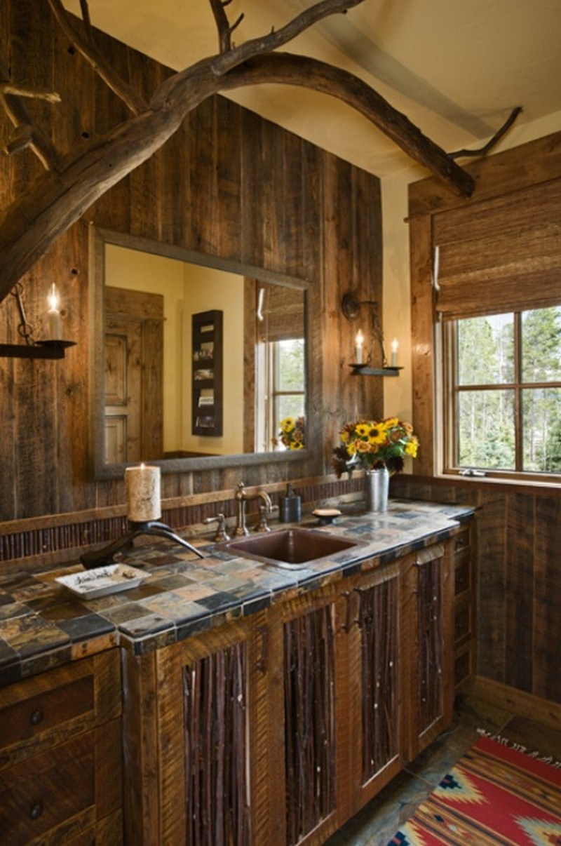 Rustic Bathrooms - The Owner-Builder Network on Rustic Traditional Decor  id=12411