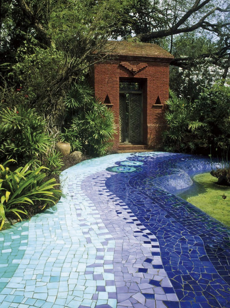 Mosaic Garden Path | The Owner-Builder Network on Patio And Path Ideas  id=52014