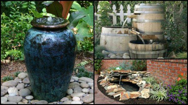 diy garden fountain DIY Garden Fountain – The Owner-Builder Network