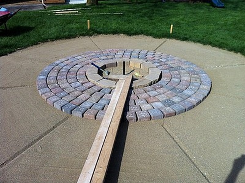 DIY Patio with Fire Pit | The Owner-Builder Network on Pavers Patio With Fire Pit id=97931
