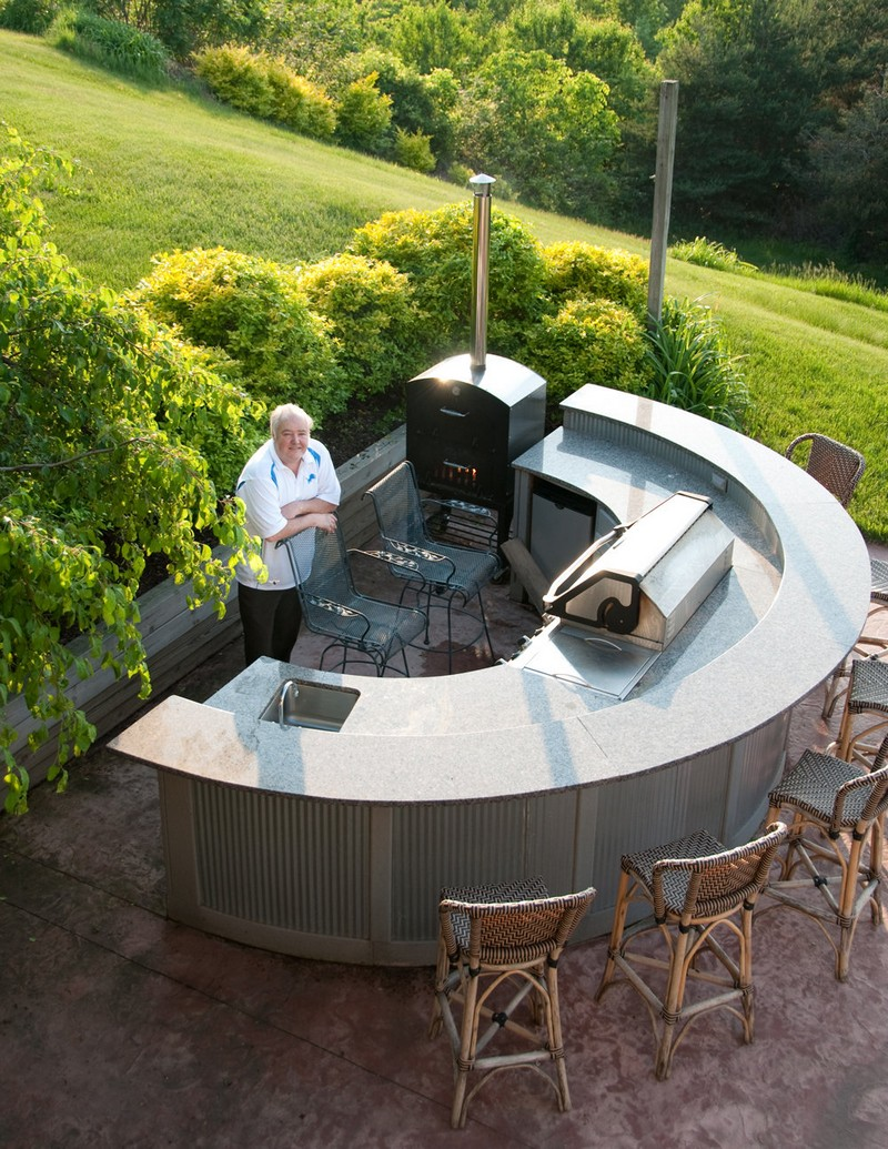 DIY Outdoor Kitchen Projects - The Owner-Builder Network on Patio Kitchen Diy  id=56647