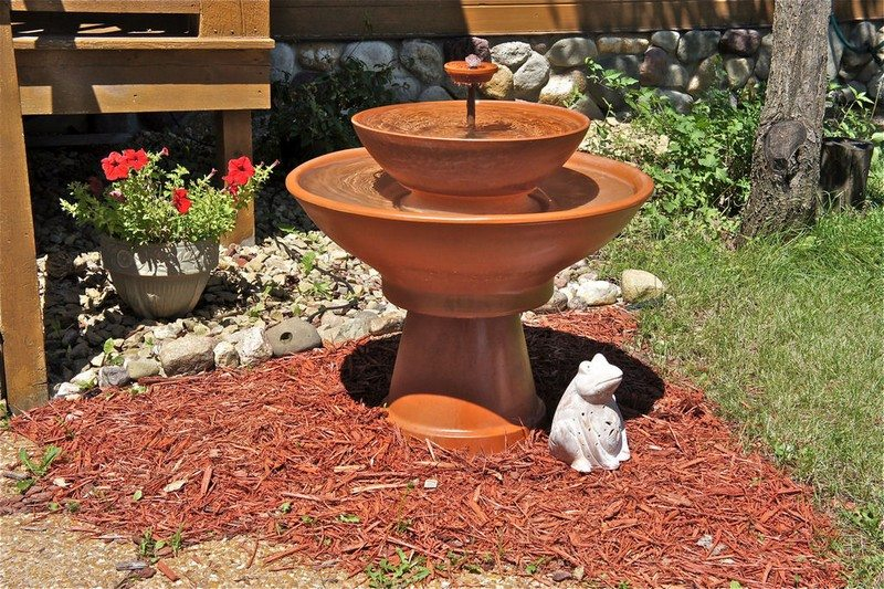 water feature project how to build a terra cotta on Terracotta Water Fountain id=72169