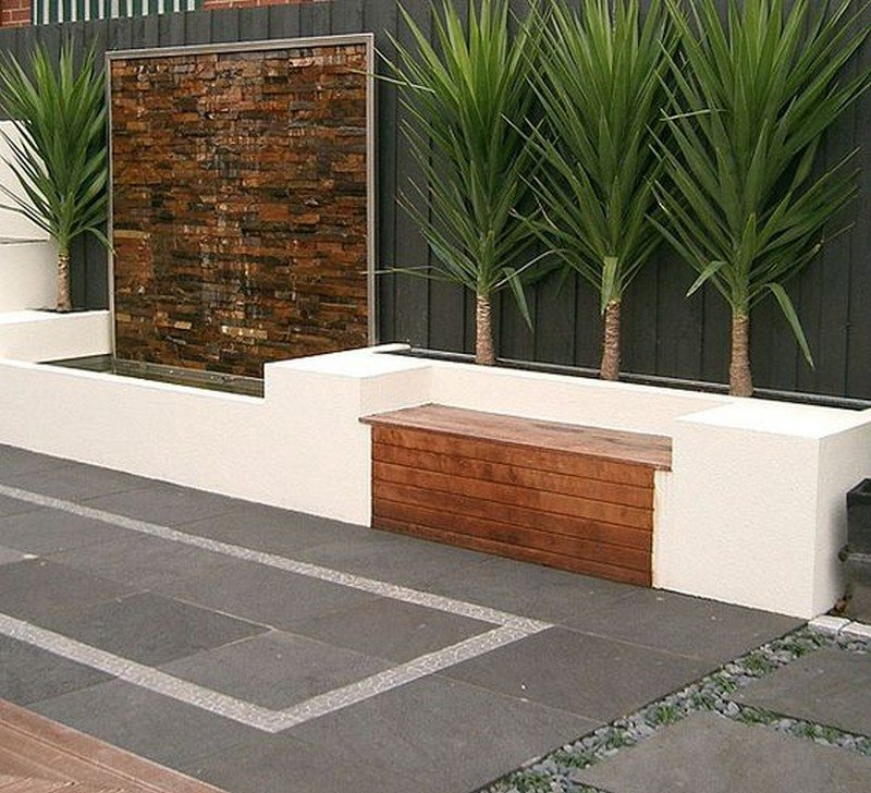 Water Wall Feature Ideas | The Owner-Builder Network on Backyard Feature Walls id=19574
