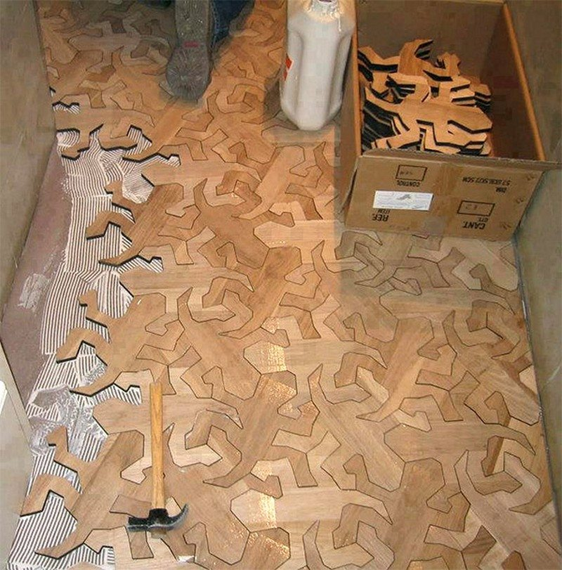 puzzle floor ideas the owner builder