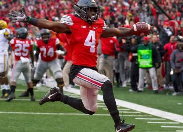 Curtis Samuel Touchdown Against Michigan 2016