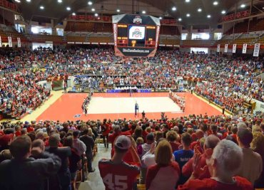 Men's Volleyball Crowd