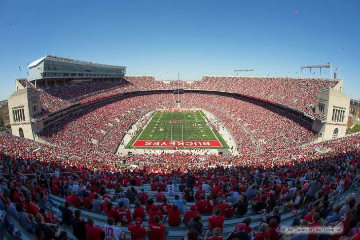 ohio stadium seating chart and stadium layout section gate and