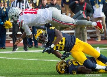 J.T. Barrett Scoring vs Michigan