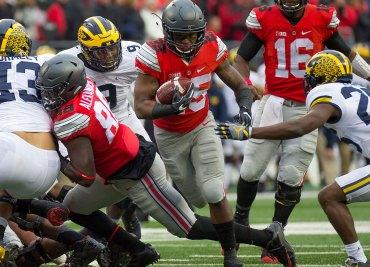 Big Ten Football Mike Weber Ohio State Football vs Michigan