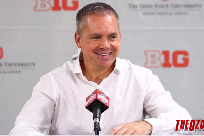Men's Basketball Head Coach Chris Holtmann Meets with the Press