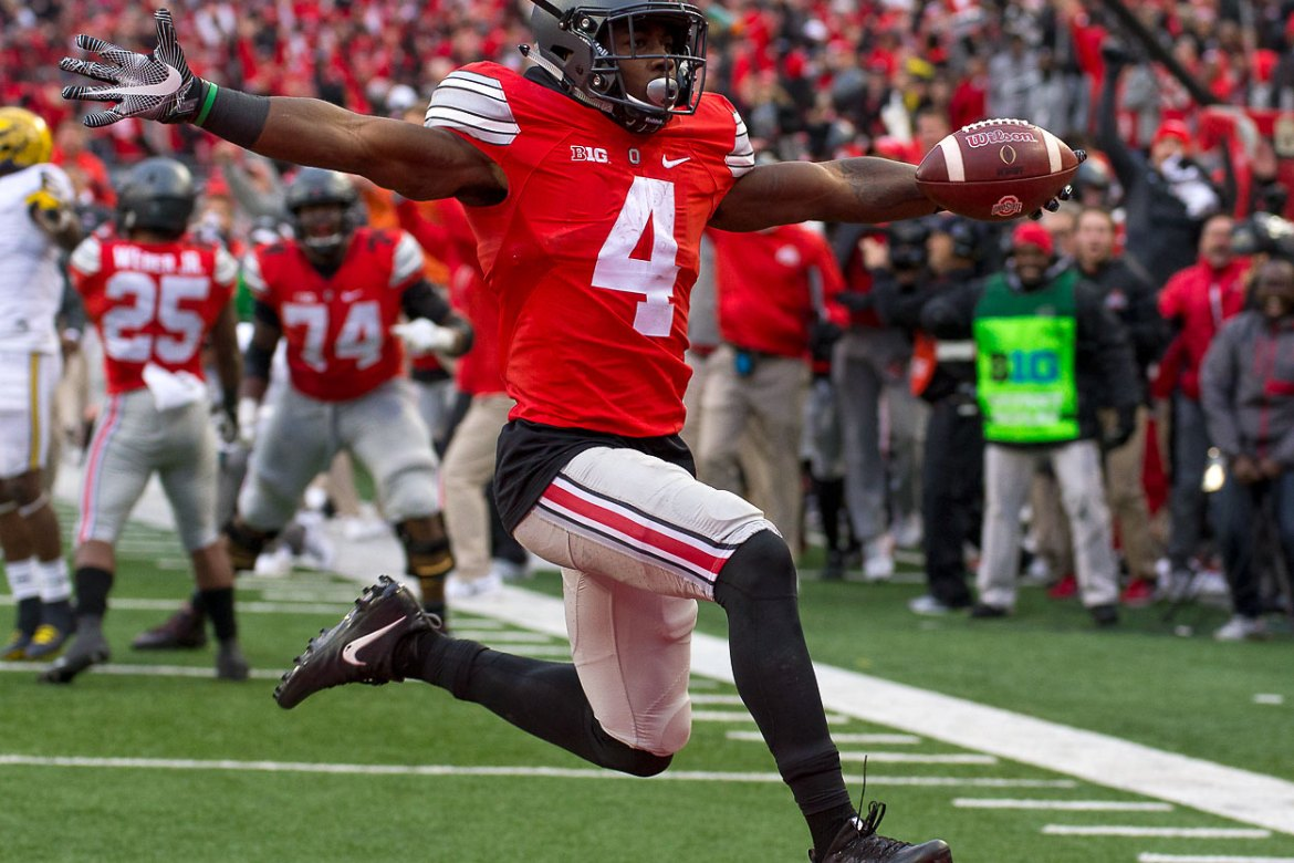 Curtis Samuel College Football