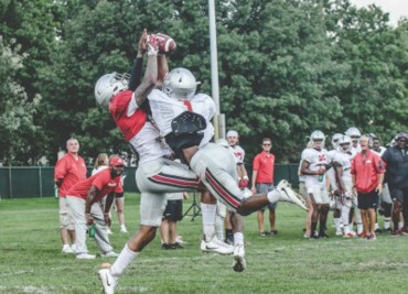 Jeffrey Okudah Fall Practice Ohio State Buckeyes Ohio State Football