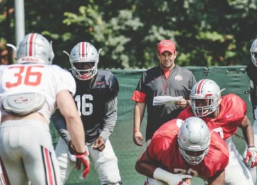 Ohio State Fall Practice 2017 J.T. Barrett Ohio State Football Ryan Day