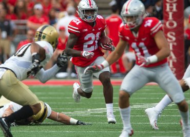 Parris Campbell Ohio State Special Teams Buckeyes