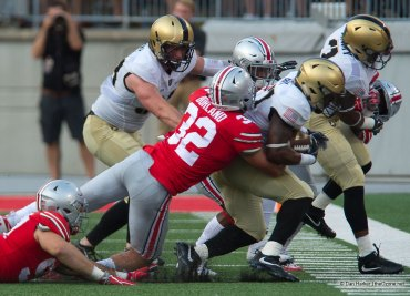 Tuf Borland Ohio State Football Buckeyes Army