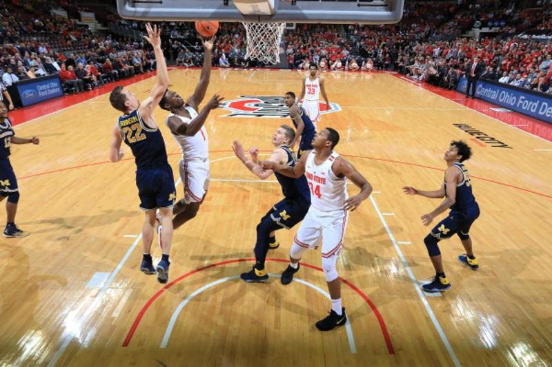 Ohio State Basketball Buckeyes Jae'Sean Tate