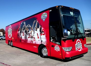 Cotton Bowl Arrival