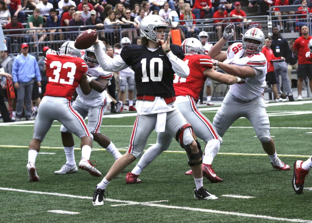 Best Guessing the Final Spring Ohio State Football Depth Chart - Offense