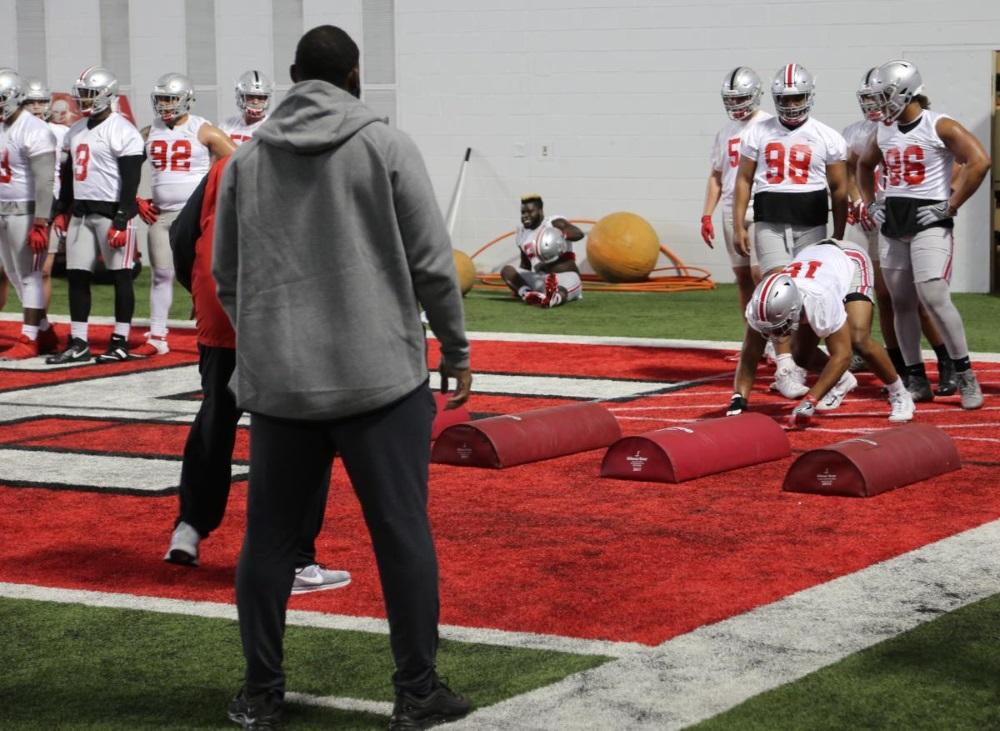 Ohio State Football Defensive Line Buckeyes
