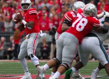 Ohio State football quarterback Dwayne Haskins