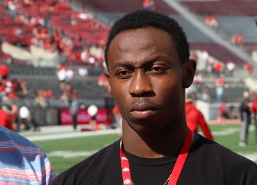 Ohio State football recruit Sampson James
