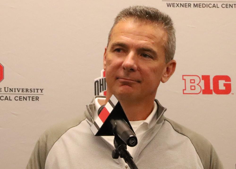 Ohio State football head coach Urban Meyer press conference