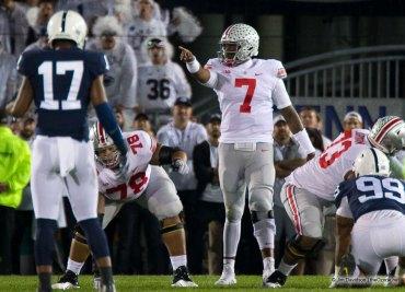 Ohio State football quarterback Dwayne Haskins Penn State