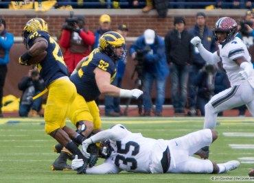 Michigan running back Karan Higdon guarantee