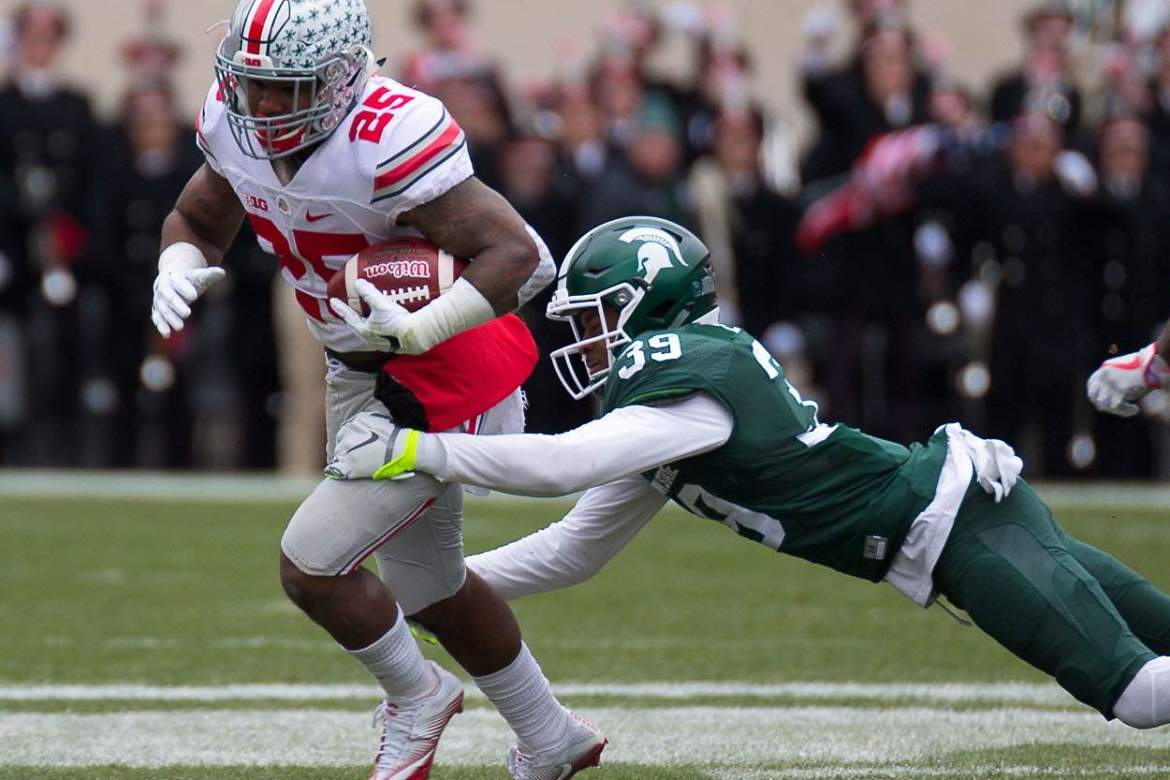 Ohio State football Mike Weber Michigan State