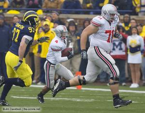 020 Ray Small Steve Rehring Ohio State Michigan 2007 The Game football