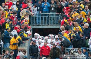 013 Jim Tressel Pregame Tunnel Ohio State Michigan 2009 football