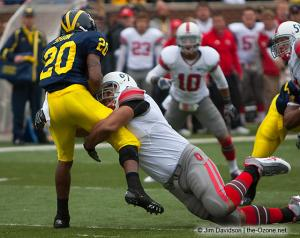 017 Cameron Heyward Ohio State Michigan 2009 football